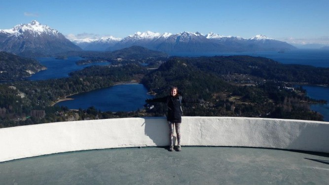 Cerro Campinario view, Barioche
