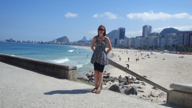 copacabana from Leme