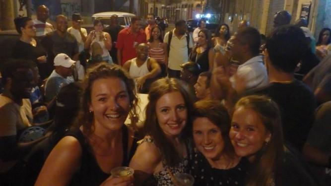 samba street party