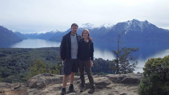 Summit view, Cerro Llao Llao Trek