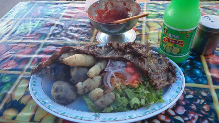 llama street food