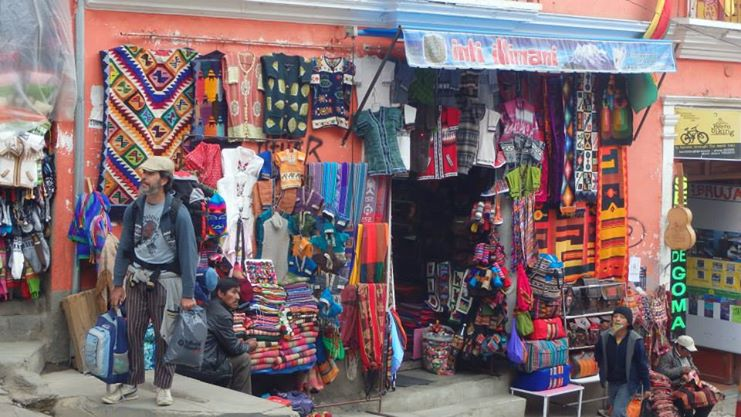 La Paz market
