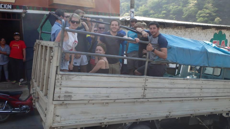 Lorry ride - Machu Picchu Jungle Trek
