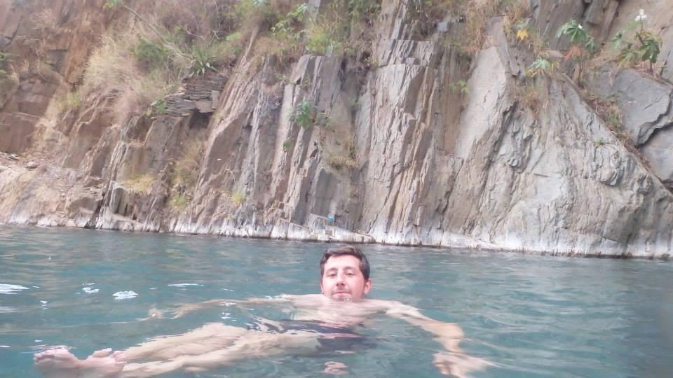 Santa Theresa hot springs