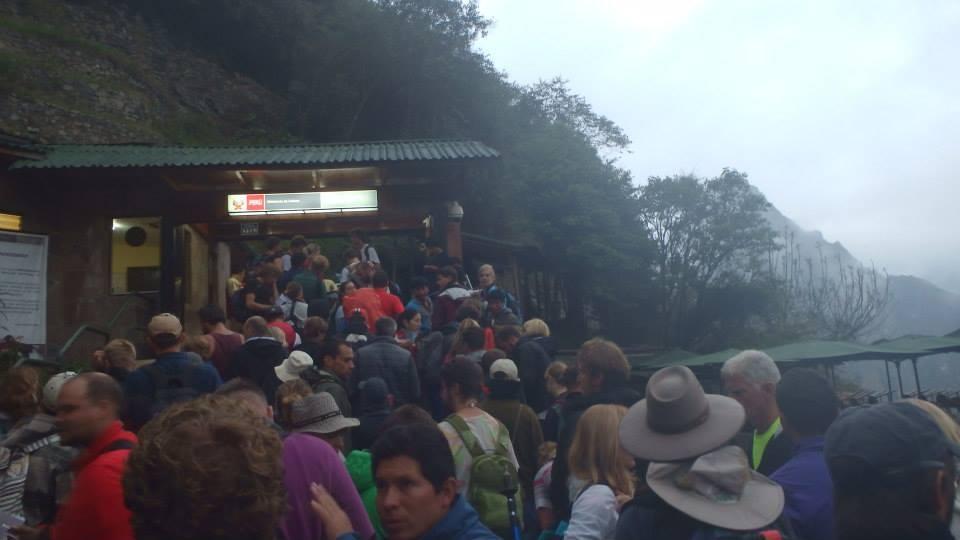 Machu Picchu front gate