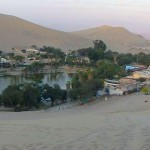 Sand Boarding in Huacachina, Peru