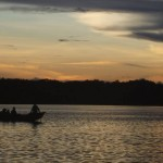 Canoeing in the Amazonian Flood Forest, Ecuador
