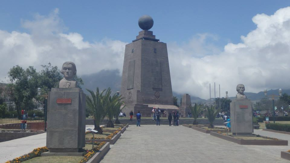 equator statue