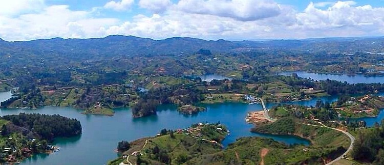 "Guatape must visit"" – get to guatapé & la piedra from medellin 