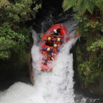 White Water Rafting on the Kaituna River, Rotorua, New Zealand