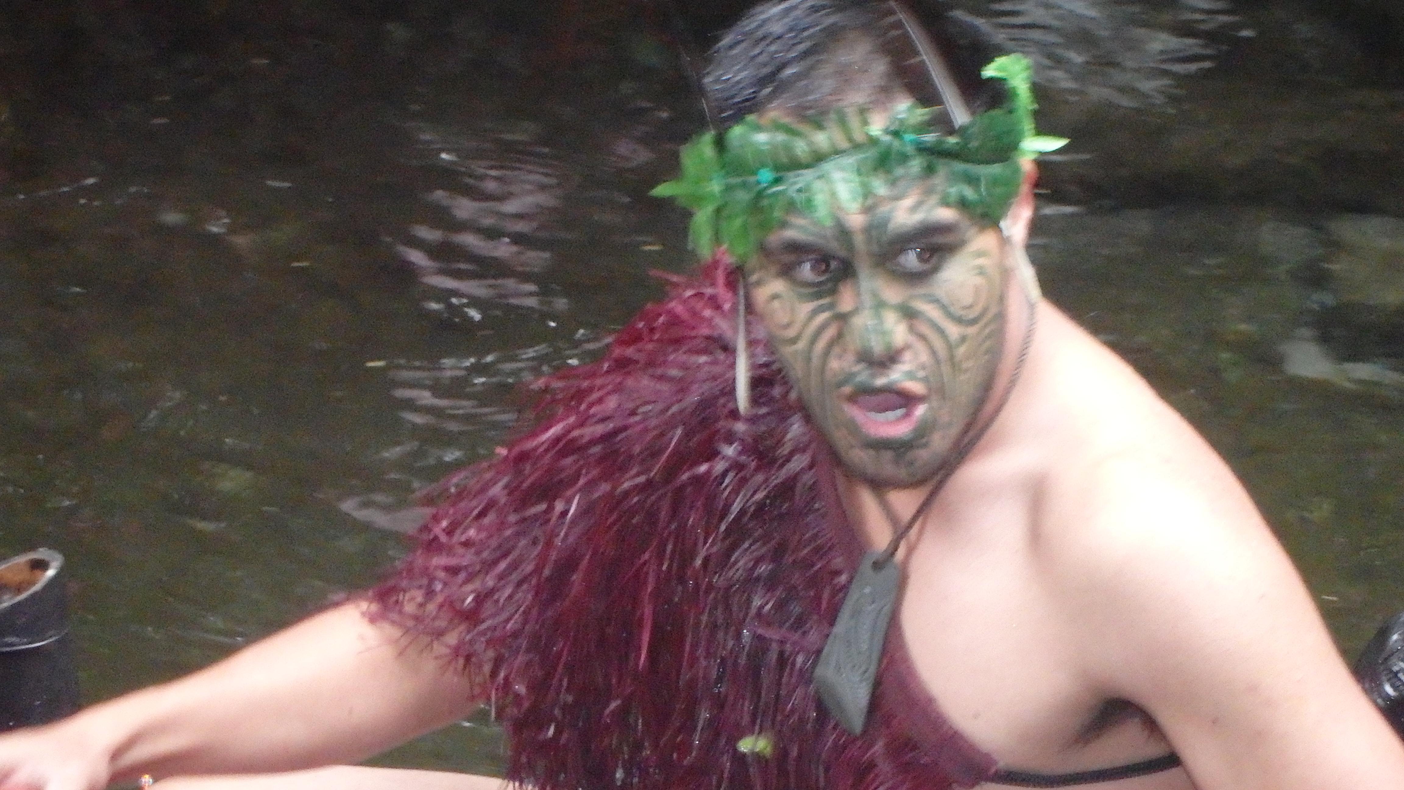 Maori Experience, Mitai, Rotorua, NZ