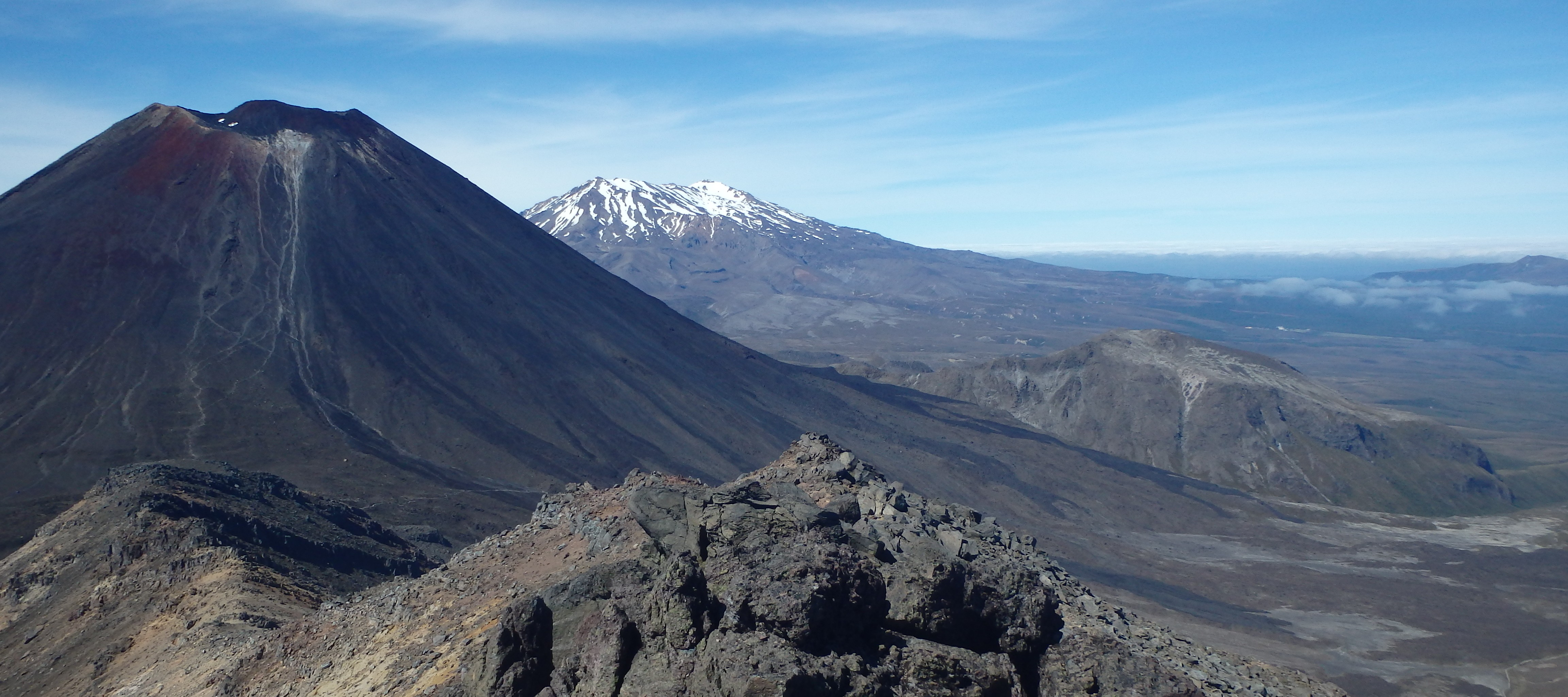 Mount Doom (Mount Ngauruhoe) from the Tongariro Summit