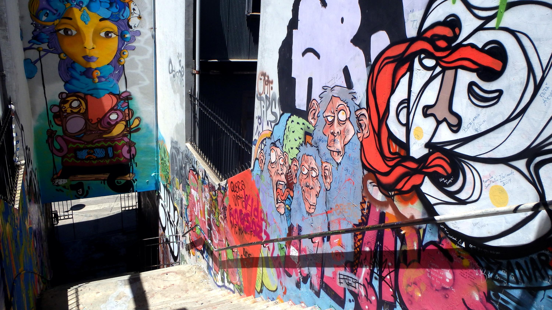 Valparaiso Alley