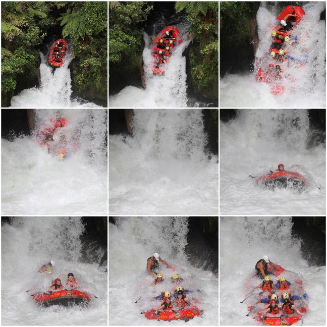 White water rafting, Rotorua